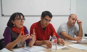 María Dolores Nieto Nieto , Francisco Sánchez del Pino y Pablo Antonio Foche